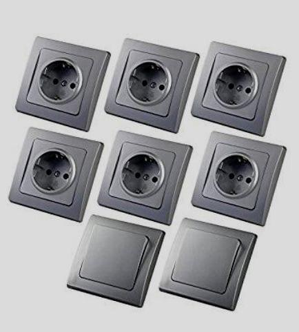 Interruptores y enchufes modernos