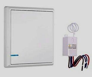 interruptor inalámbrico para luces
