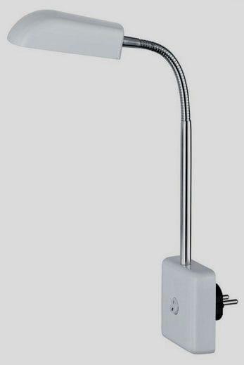 lámpara enchufe con sensor