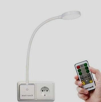 lámpara enchufe sencilla