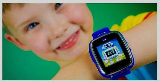 reloj inteligente niños al campo