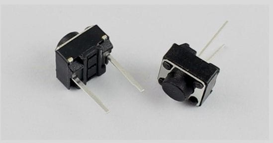 Interruptor Pulsador Eléctrico